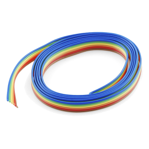 Ribbon Cable - 6 wire (1m)