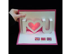 Light-Up Valentine Cards