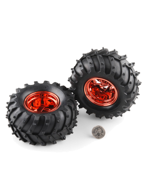 Off-Road Wheels - 120x60mm (2 pack)