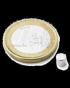 Disc magnet Ø 4 mm, H 4 mm