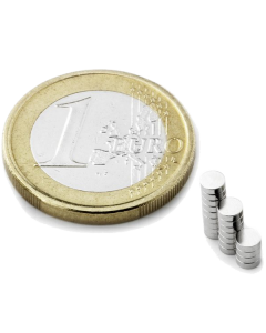Disc magnet Ø 3 mm, H 1 mm