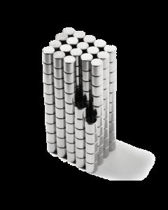 Disc magnet Ø 2 mm, H 2 mm
