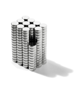 Disc magnet Ø 4 mm, H 1,5 mm