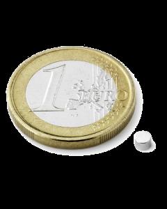 Disc magnet Ø 3 mm, H 3 mm