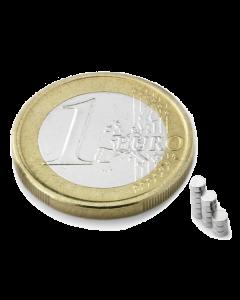 Disc magnet Ø 2 mm, H 1 mm