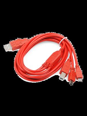 SparkFun Cerberus USB Cable - 1.8 meter