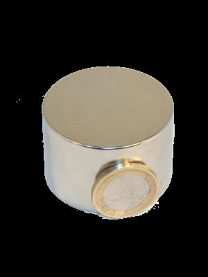 Disc magnet Ø 45 mm, H 30 mm