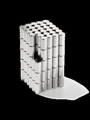 Rod magnet Ø 4 mm, H 7 mm