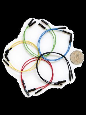 Jumper Wires Premium F/F - 15.5 cm (Pack of 10)